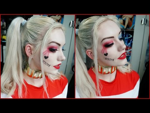 Harley Quinn Makeup | Suicide Squad | DaisCosplay