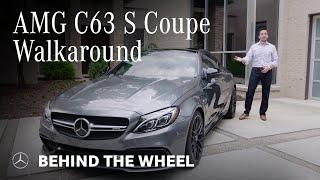 New Mercedes-AMG C63 S Coupe Walk Around