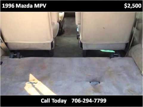 1996 Mazda MPV Used Cars Augusta GA