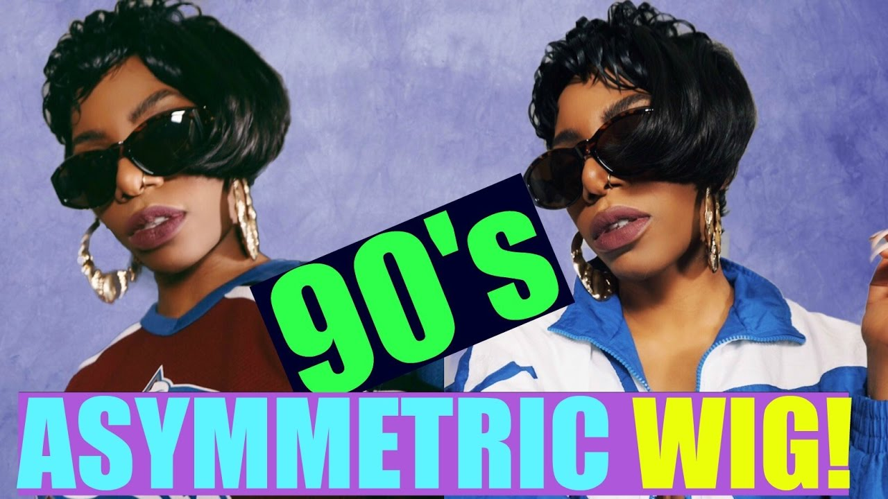 Late 80 S Early 90 S Asymmetric Haircut Quot Nana Wig Quot Youtube