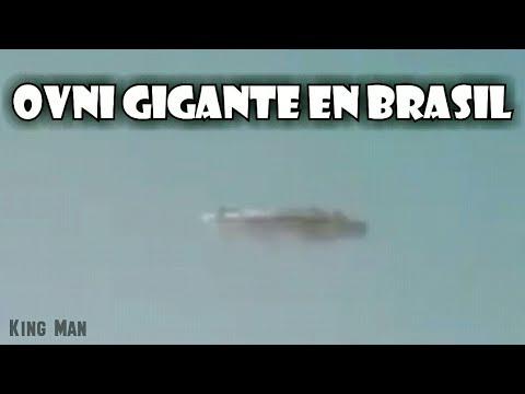 Inmensa nave grabada en el Morro Brasil