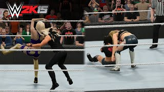 Every Diva Performing The Stone Cold Stunner - WWE 2K15 PC