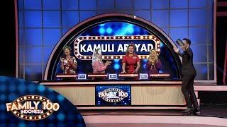 Sisa 1 jawaban lagi! Bisakah di sapu bersih oleh Kel. Kamuli Arsyad? - PART 2 - Family 100 Indonesia