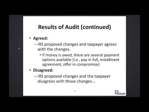 How to Handle a Federal Tax Dispute  Audit, Appeal, and Liti