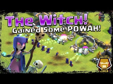 TH 9 Witch Gained Powah | Troops In Action | Clash of Clans