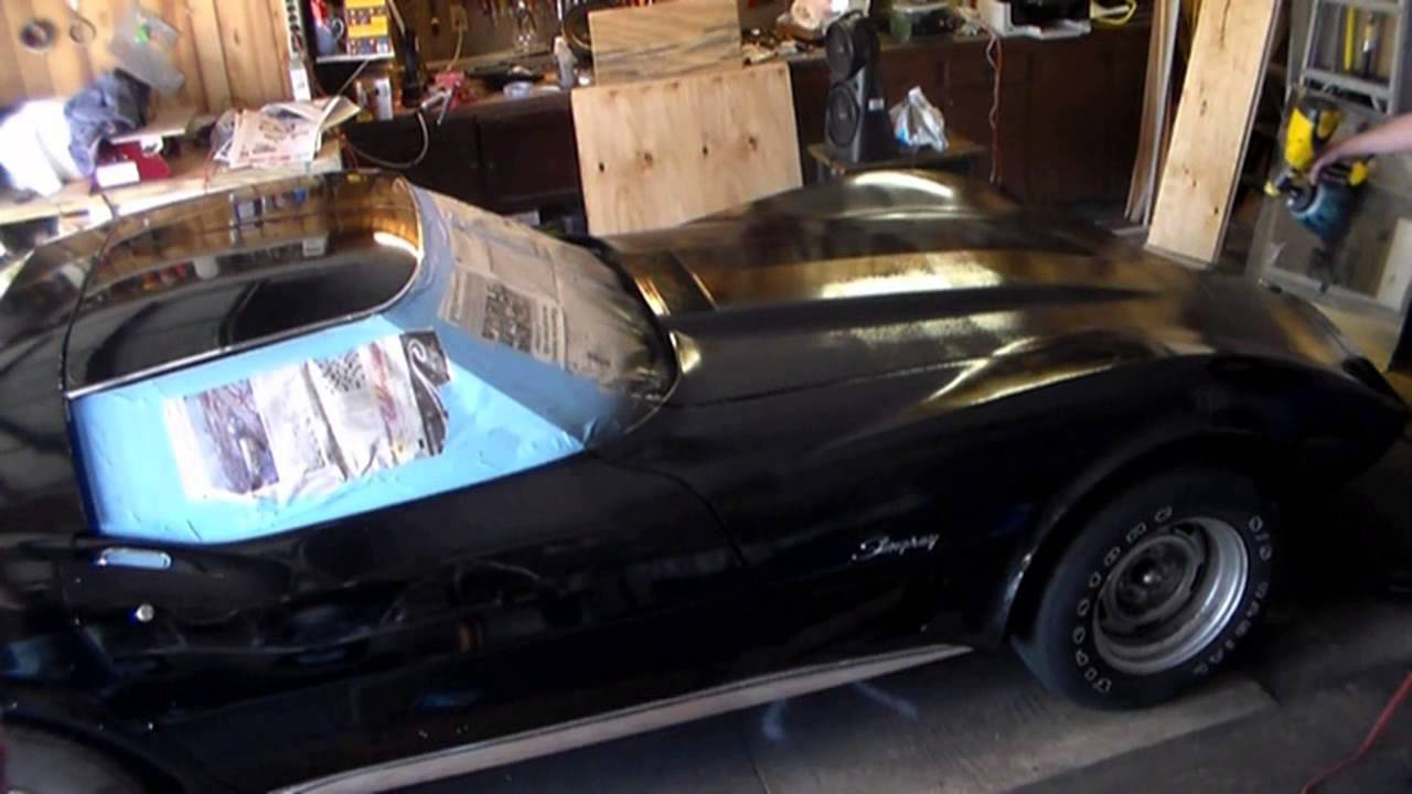 Plasti Dip 76 Corvette Stingray Black Youtube