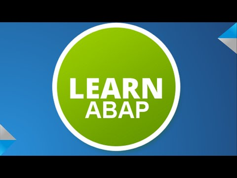Video Lesson 10.1: ABAP Function Modules