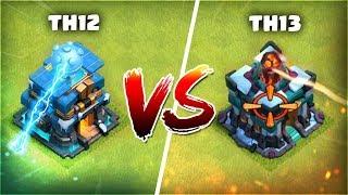 GIGA TESLA vs GIGA INFIERNO | TH13 vs TH12 ¿Cuanta Diferencia Hay Realmente?