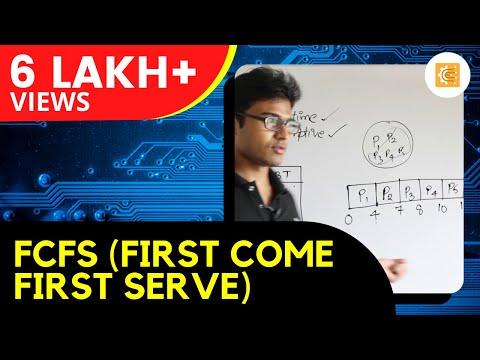 FCFS(First Come First Serve)