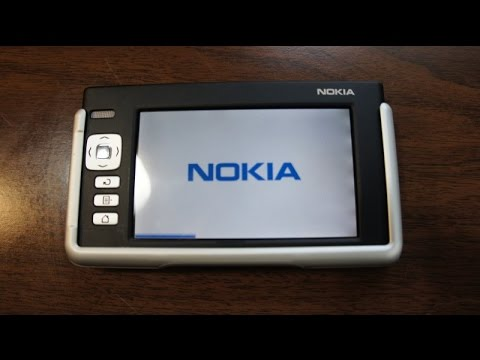 2005 Nokia N770 Internet Tablet Overview and Unboxing (PalmOS Linux Device)