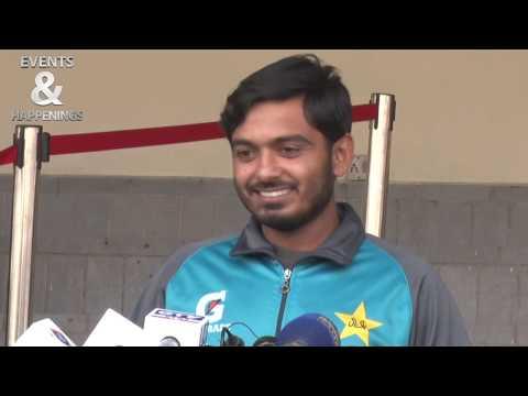 Pakistani New Opening Batsman Ahsan Ali Media Talk At Lahore | 18 Jan 2020
