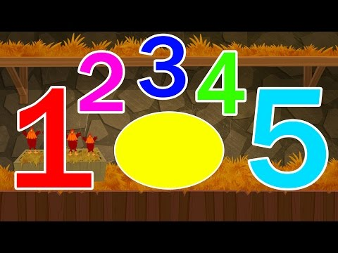 surprise eggs | learn numbers | number song for kids