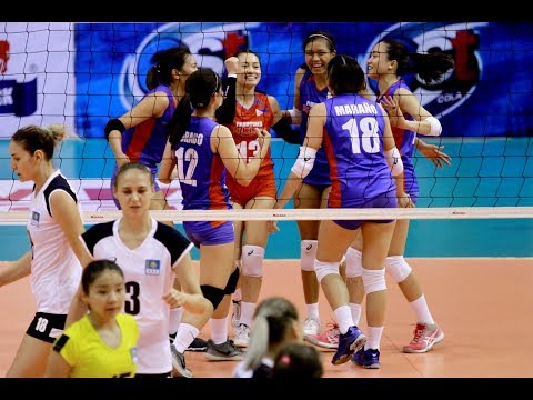 HL TV   AVC Cup For Women's 2018   Group C   PHI - KAZ