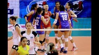 HL TV | AVC Cup for Women's 2018 | Group C | PHI - KAZ