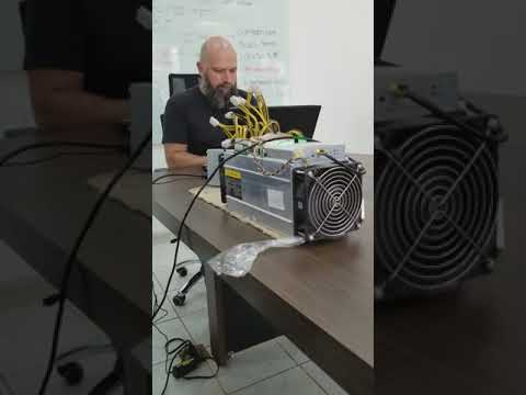 Fastest  Bitcoin Mining Machine Launched By A Very Young Business Guy