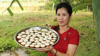 Awesome Cooking Steamed Rice Cup Cake -  Rice Cake -  Village Food Factory