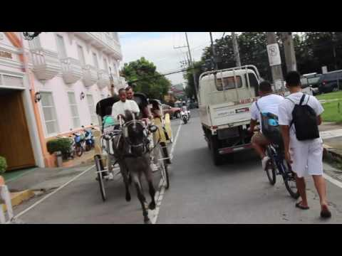 Exploring Intramuros - The Old Walled City in Manila, Philippines - Amateur Traveler Video #86