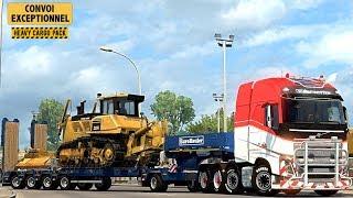 Euro Truck Simulator 2 CONVOIE EXCEPTIONNEL - Heavy Cargo Pack