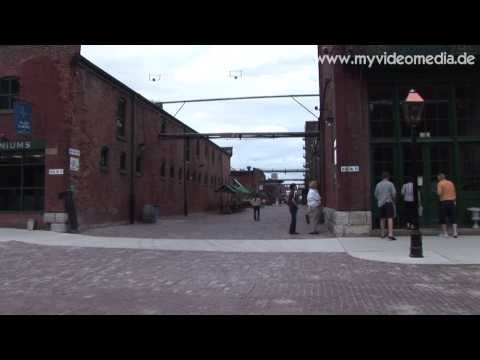 Toronto, Distillery District and St. James Cathedral - Canada HD Travel Channel