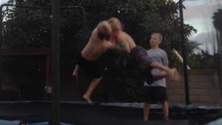 WWE - Smackdown - Main Event - John Cena vs. Randy Orton - Championship Match (Trampoline)