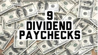 My Dividend Payments I Got Paid 9 Dividends | Dividend Investing strategy for passive income