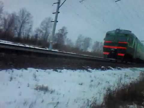 ЭД2Т-0040 на перегоне Смолино - Шершни