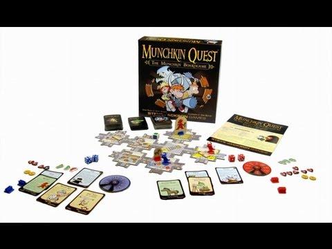 Манчкин Квест ( Munchkin Quest ) | ОБЗОР