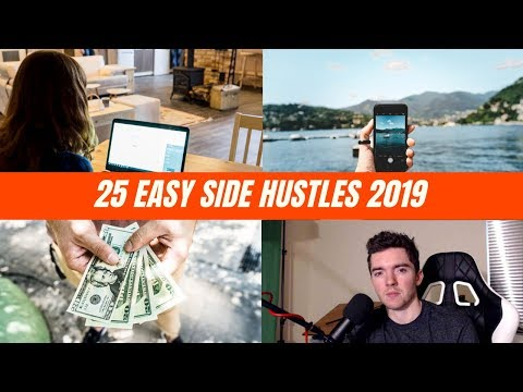 25 Easy Side Hustles for Extra Money 2019