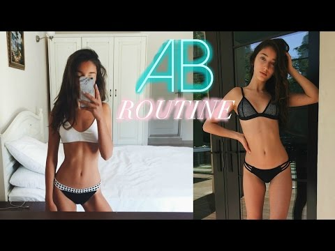HOW TO GET ABS // AB WORKOUT ROUTINE | Nil Sani