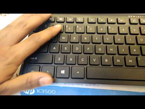 9e243ba1047 Pairing a Commercial Wireless Keyboard and Mouse with an HP Computer ...