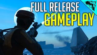 Battlefront 3 Multiplayer Gameplay (Fighter Squadron, Unlocks, Heroes Vs Villains, Walker Assault)
