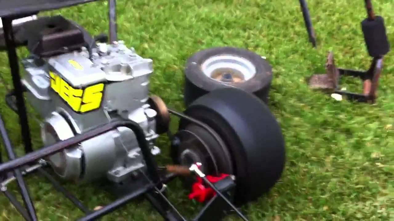 Indy Car Go kart for sale - YouTube
