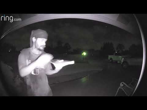DC - Another Man Caught Licking Doorbell ... WTF