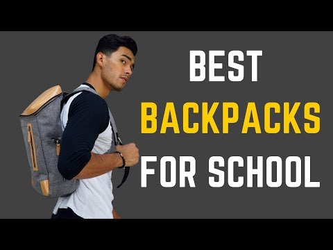 The Coolest Backpacks for School