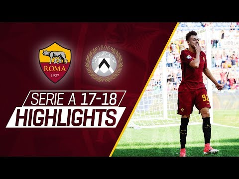 El shaarawy scores a brace! roma 3 - 1 udinese, serie a 2017-18 highlights