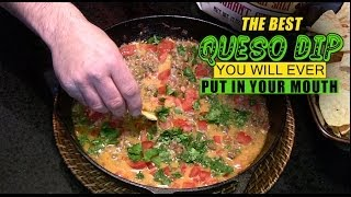 The Best Queso Dip You Will Ever Put In Your Mouth!