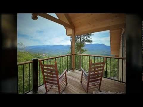 Elk Springs Resort   Amazing Views Retreat   Gatlinburg Cabin Rental