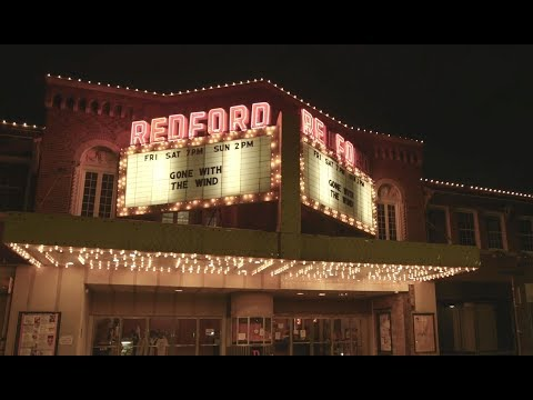 Detroit's Redford Theatre Keeps The Spirit Of Vintage Cinema Alive