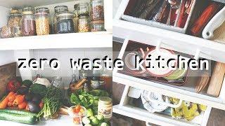 ZERO WASTE KITCHEN TOUR // how to make your home eco friendly