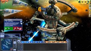 Star Wars Empire at War HUGE Space Battle
