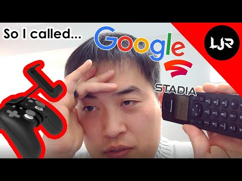 So I Called Google Regards To Stadia Claw (Phone Mount)...