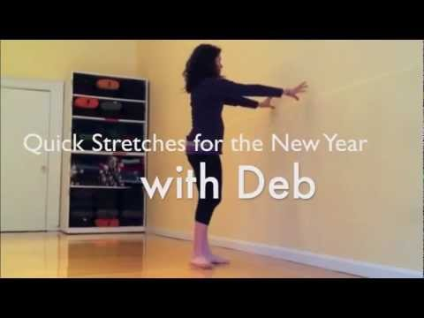 quick office stretches for the new year from the prenatal