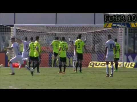 Santos 2 x 1 Coritiba - Gols - Brasileirão 2016
