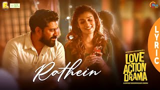 Rathein Lyric Love Action Drama Song Nivin Pauly Nayanthara Shaan Rahman Official
