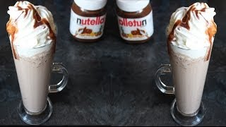 Diy:how To Make A Nutella Hot Chocolate And Frap