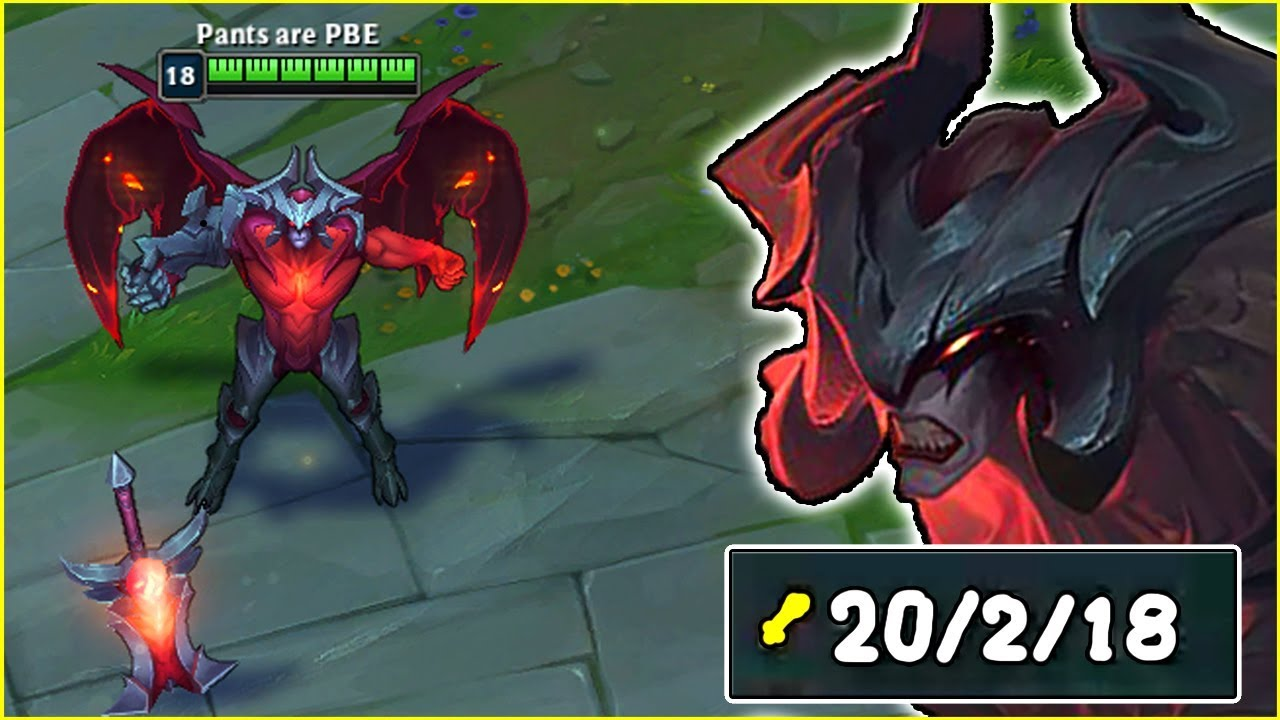 AATROX REWORK IS ACTUALLY DISGUSTING!! HE'S LITERALLY THE NEW RIVEN! - League  of Legends Gameplay