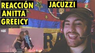 Anitta y Greeicy 'Jacuzzi' en vivo en Megaland Music Fest (REACCIÓN)