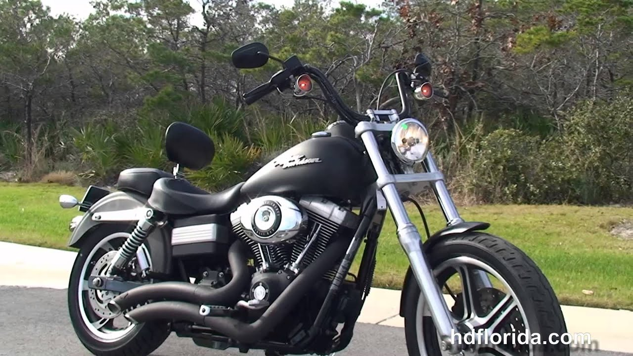 Used 2007 Harley Davidson Dyna Street Bob Motorcycles For