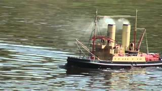 Fabulous Model Steam Ship + others - select 720p