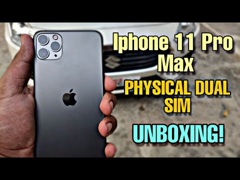 Iphone 11 Pro Max Unboxing🔥 | Physical Dual Sim IPhone |  Iphone 11 Pro Max Review | TechnoKrane